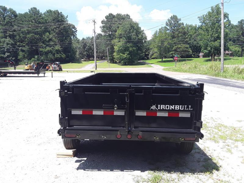 "2019 Iron Bull 72"" X 12' Dump Trailer"