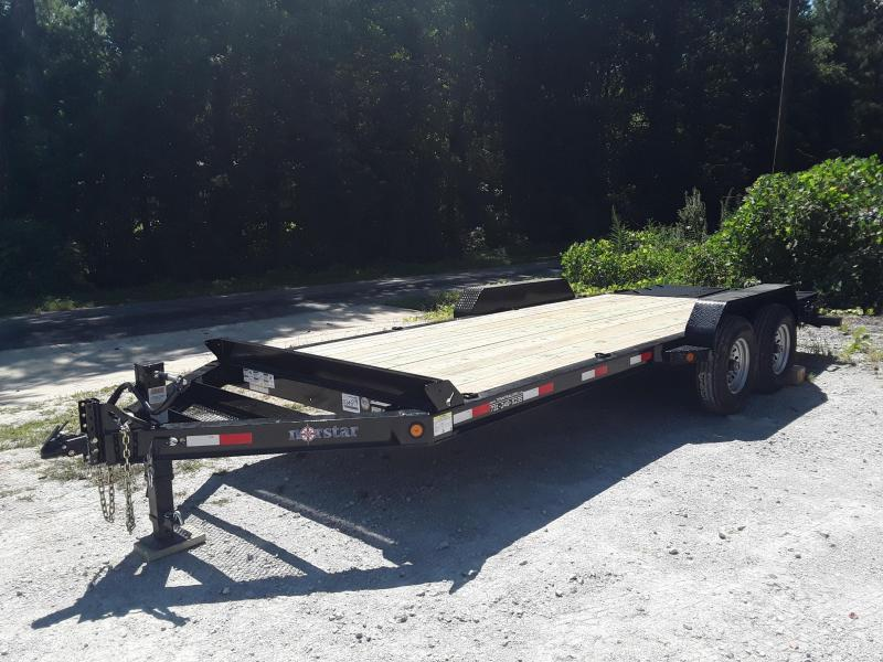 "2019 Norstar 83"" x 20' Equipment Trailer W/Rampage Ramps"