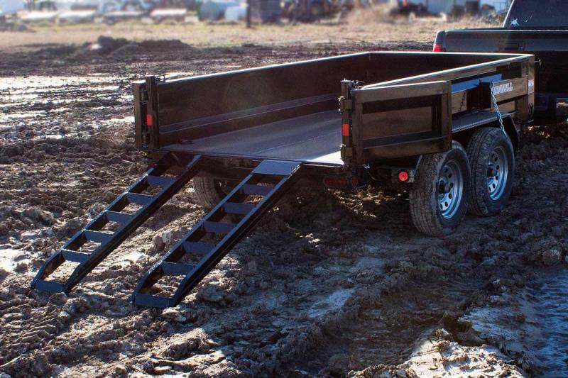 "2018 Iron Bull 60"" x 10' Dump Trailer 2-3500lb Axles  in Brownwood, MO"