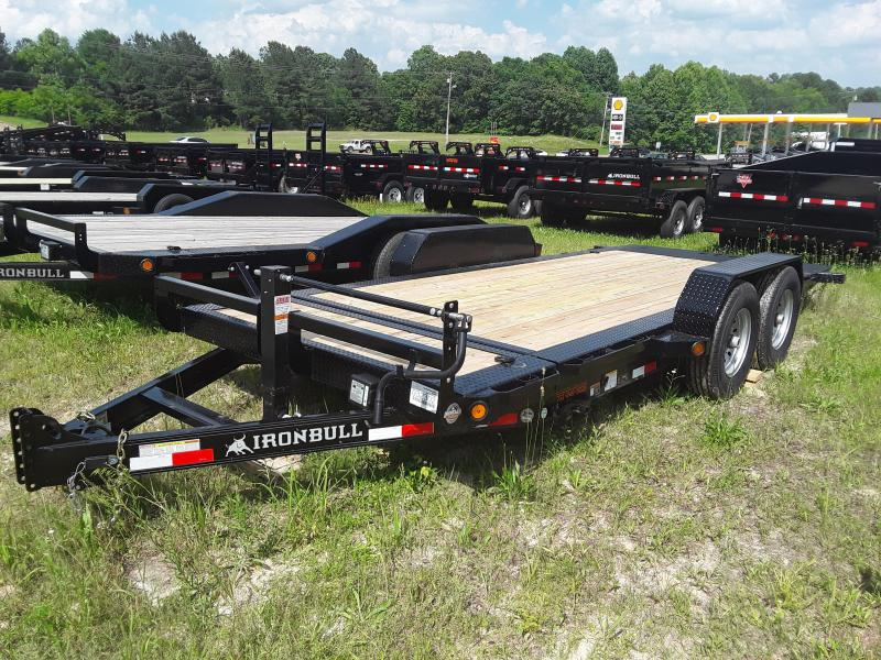 "2019 Iron Bull 83"" X 18' Tilt Equipment Trailer W/ 2 7000 Lb Axles"