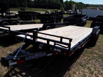 "2018 Load Trail 83"" X 20' Tandem Axle Carhauler Car / Racing Trailer"