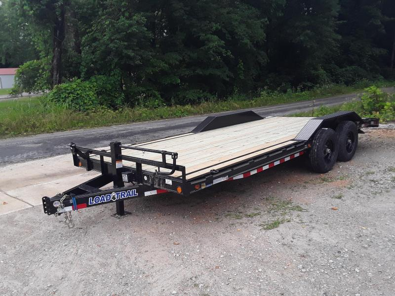 "2019 Load Trail 102"" X 20' Equipment Trailer W 2 7 K Axles and Drive Over Fenders in Dyess, AR"
