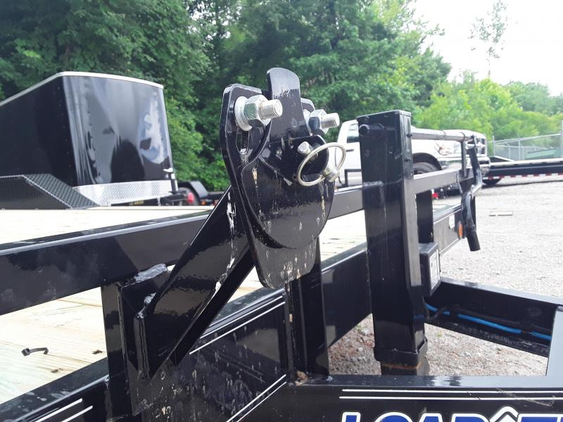 """2019 Load Trail 102"""" X 20' Equipment Trailer W 2 7 K Axles and Drive Over Fenders"""