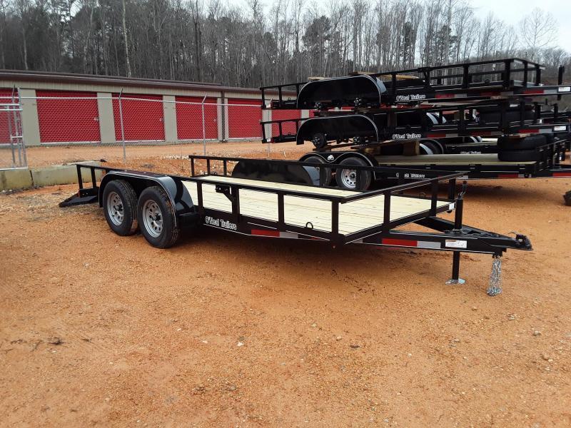 "2019 O Neal 6'4"" X 16' Utility Trailer  W 2 3500 lb Axles & Brakes on one Axle"