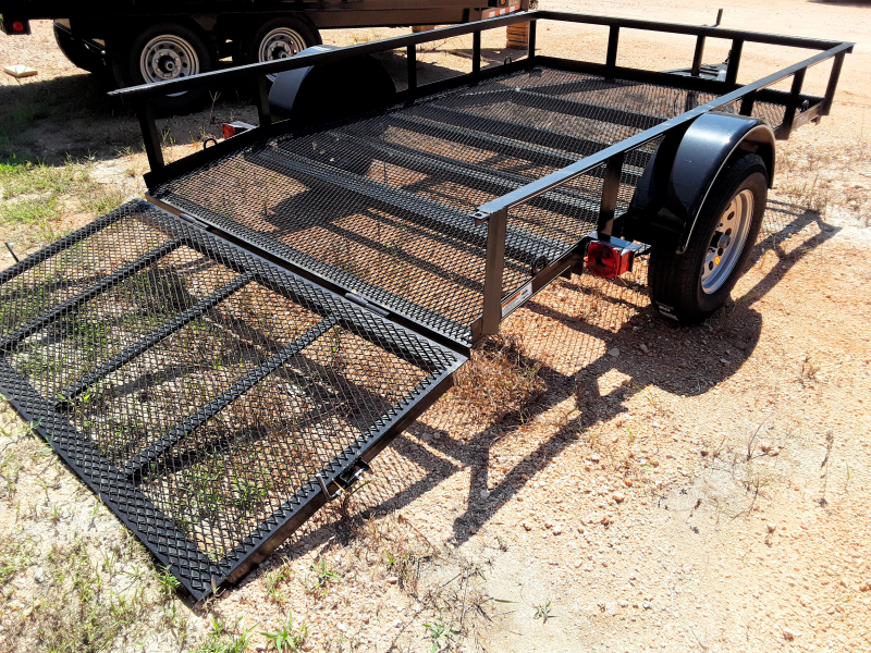 2018 O Neal 6 10 X 10 Mesh bottom 2 foot dove 3 foot gate Utility Trailer