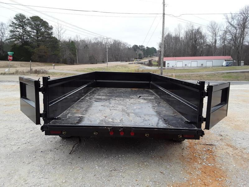 "Iron Bull Dump Trailer 83""x14'  W 2 7000 Lb Axles"