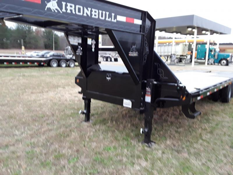 """2019 Iron Bull 25' X 102""""Flatbed Trailer W 2 10k Axles and Max Ramps"""