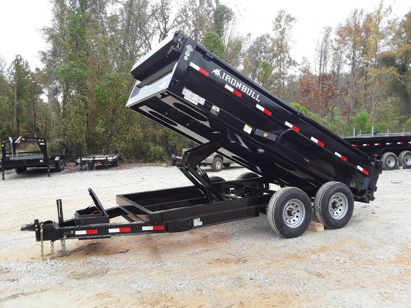 "2019 Iron Bull Lo Pro DUMP TRAILER 83"" X 14' 2-7000LB AXLES"