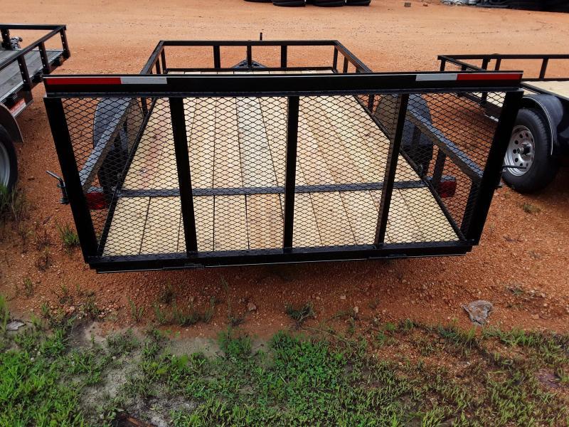 2019 O Neal 6 4 X 12' 3500 lb Axle 2 foot dove 3 foot gate Utility Trailer