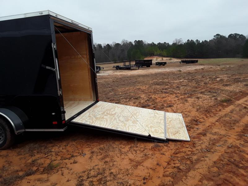2019 Covered Wagon Trailers 7'X14' TA Enclosed Cargo Trailer