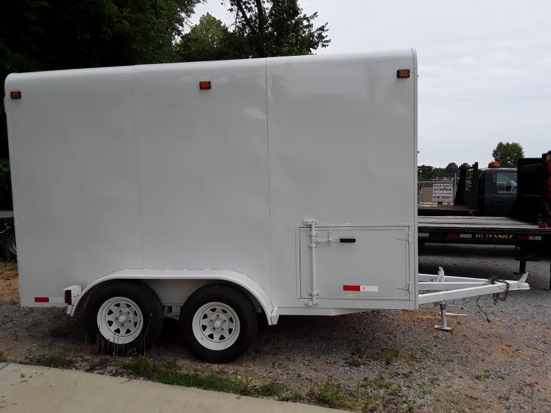 USED:  6x12 Enclosed Enclosed Cargo Trailer