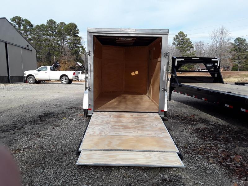 2019 Covered Wagon Trailers 7X14TA-Gold V Nose Enclosed Cargo Trailer