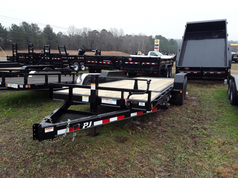 "2019 PJ Trailers  14K Tilt Equipment Trailer 83"" X 20' in Rector, AR"