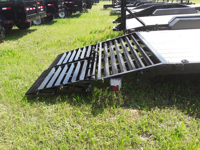 """2019 Iron Bull 102"""" X 40' Gooseneck Flatbed W/2 10000 lb axles and Rampage Ramps"""
