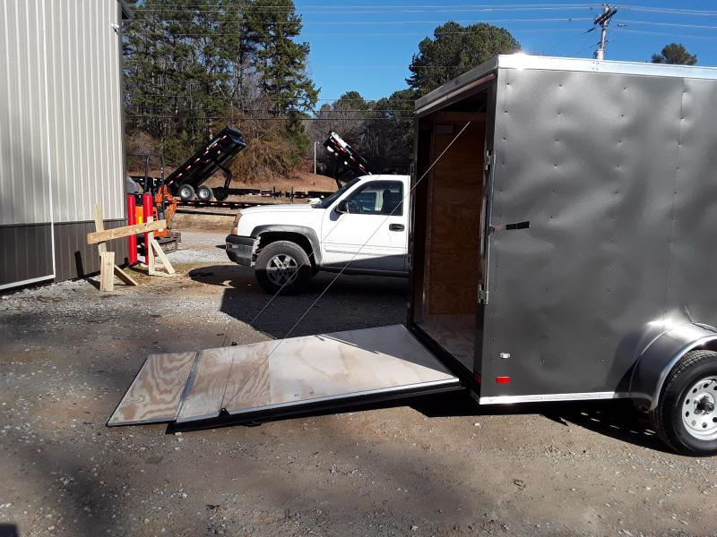 2019 Covered Wagon Trailers 6' X 12' SA Enclosed Cargo Trailer