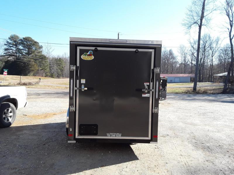 2019 Covered Wagon Trailers 6X12SA Enclosed Cargo Trailer