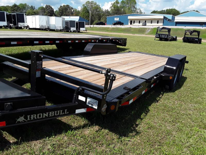 "2018 Iron Bull 83"" X 20 'Tilt Equipment Low Pro in Coffeeville, MS"