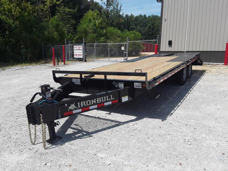 "2020 Iron Bull 102"" X 22' Pintle Equipment Trailer"