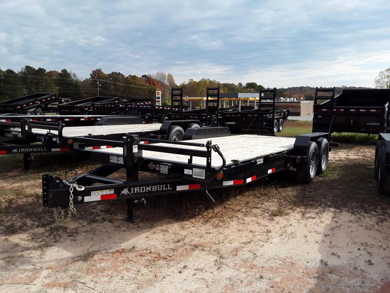 2018 Iron Bull Equipment Trailer W 2 7000 lb axels in Cedarbluff, MS