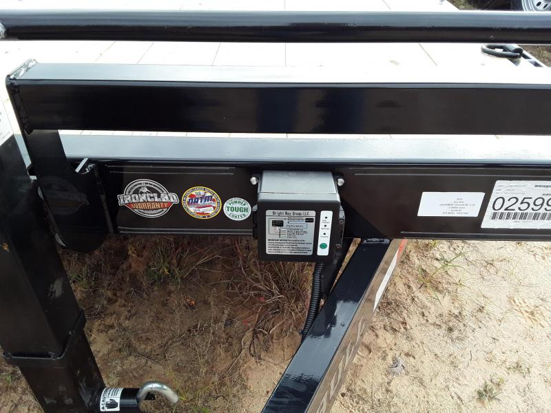"2019 Iron Bull 83"" X 20' Equipment Trailer w 2 7000 Lb Axles"