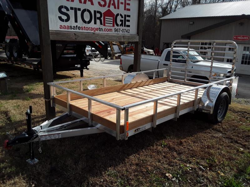 2019 Legend Trailers Legend 6'X12' Aluminum Low Side Utility Trailer W 3000 lb Axle