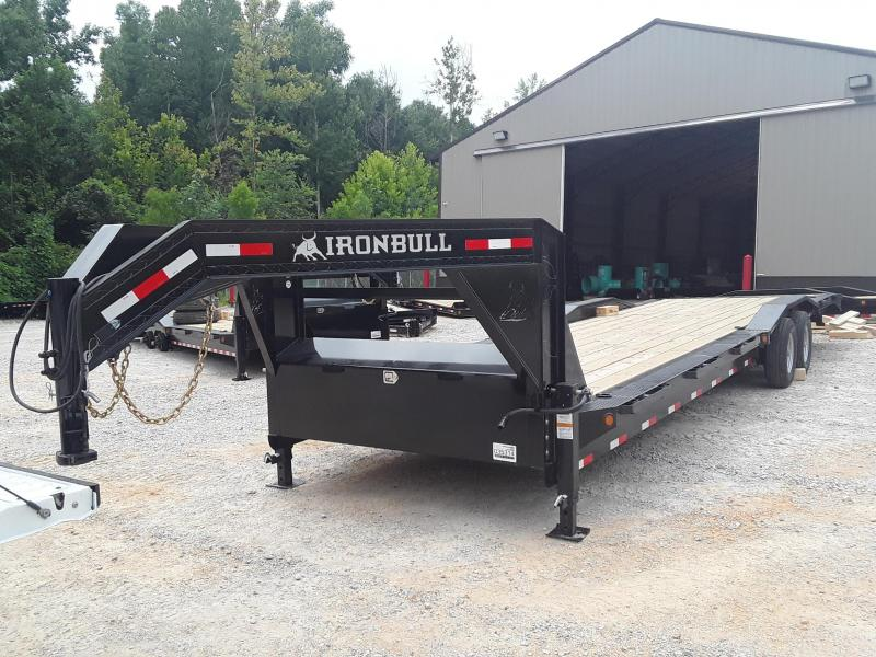 "2019 Iron Bull 102"" X 32' Flatbed Trailer"