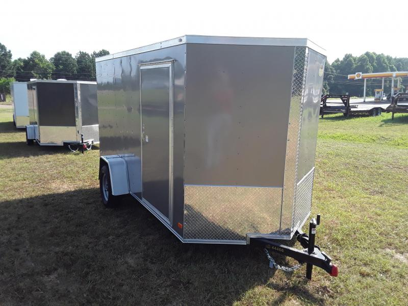 2018 Covered Wagon Trailers 6 By 12' Gold Mine Series Single Axle 3000 lb Enclosed Cargo Trailer
