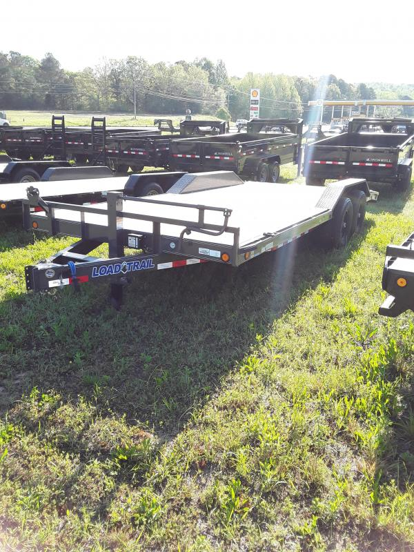 "2018 Load Trail 20' x 102"" Carhauler W/ Drive Over Fenders & Slide In Ramps in Fulton, MS"