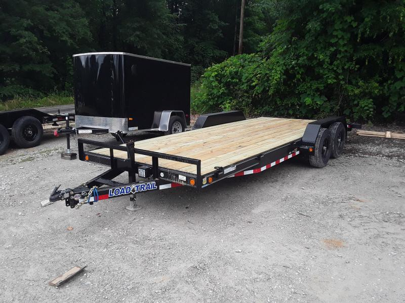 "2019 Load Trail 83"" X 20' Tandem Axle Carhauler / Equipment Trailer in Dyess, AR"