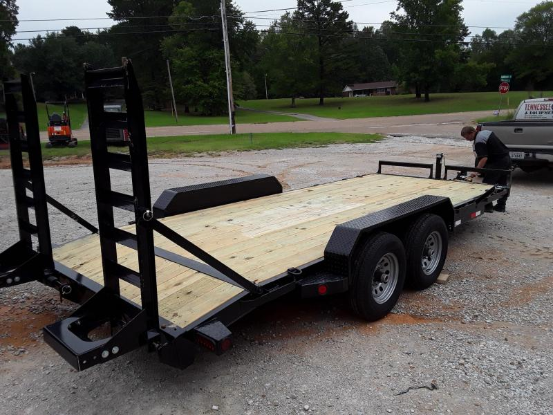 2018 Iron Bull EQUIPMENT HAULER 83 X 22 Equipment Trailer in Coffeeville, MS