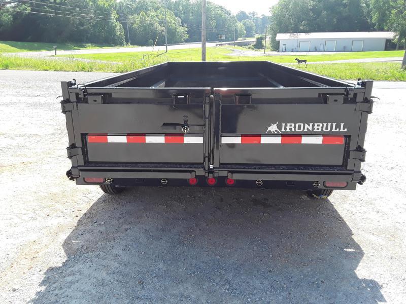 "2019 Iron Bull 83"" X 16' Dump Trailer W 3 7000 Lb Axles"