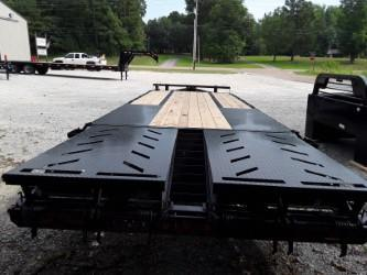 2018 Iron Bull PINTLE LOW PRO 102 X 25 2-10K AXLES Equipment Trailer