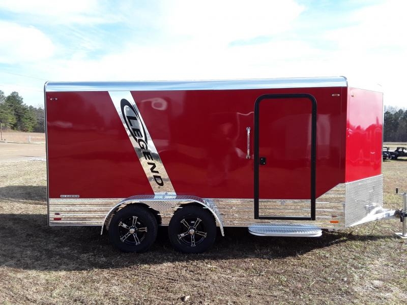 2019 Legend Trailers 7'X17' Deluxe Enclosed Cargo Trailer in Ashburn, VA