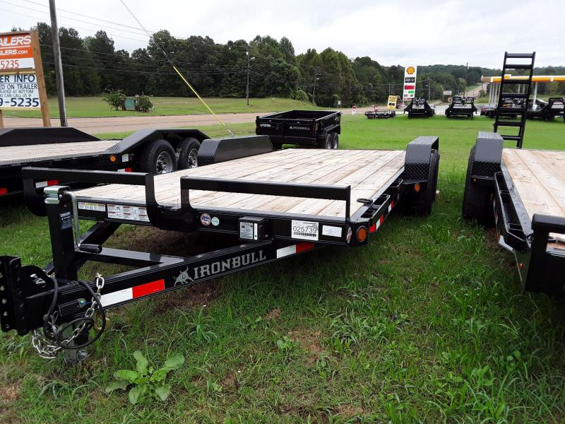 2018 Iron Bull Iron Bull 83 X 18 Equipment Trailer in Sherman, MS
