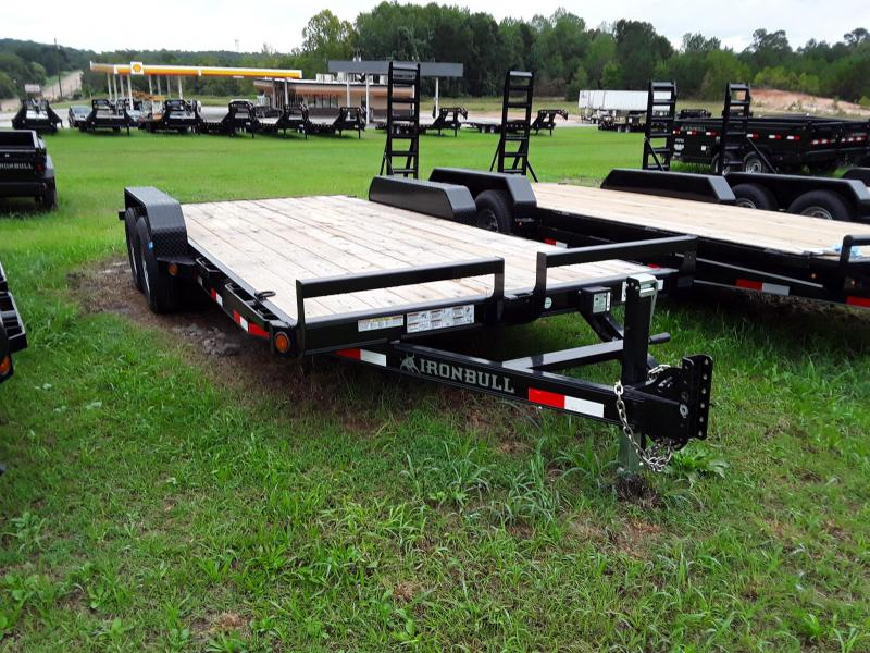 "2019 Iron Bull 83""x18' W 2 5200lb Axles 10.400lb GVWR in Rector, AR"