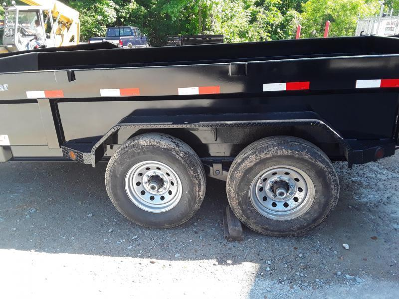 "2019 Norstar 83"" X 14' Dump Trailer W 2 7000 Lb Axles"