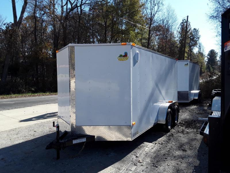 2019 Covered Wagon Trailers S-7X14TA Enclosed Cargo Trailer