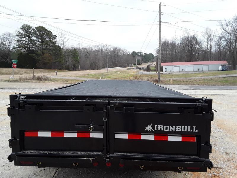 "2020 Iron Bull 83"" X 14' Dump Trailer"