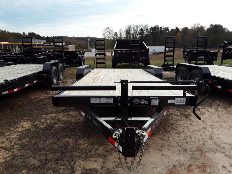 "2019 Iron Bull 83"" X 20' Equipment Trailer W 2 7000 Lb Axles in Dyess, AR"
