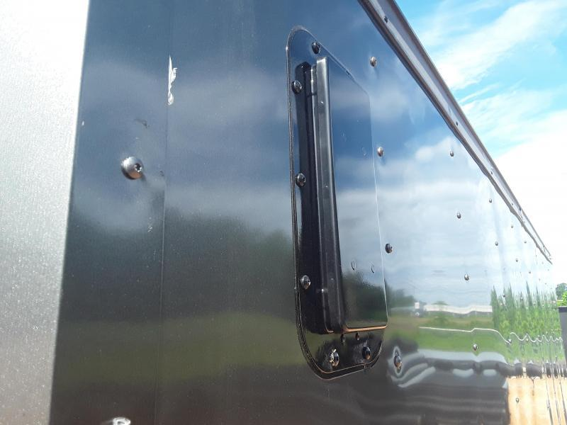 2019 Rock Solid Cargo 6' X 12'  Enclosed Cargo Trailer W Blackout Package
