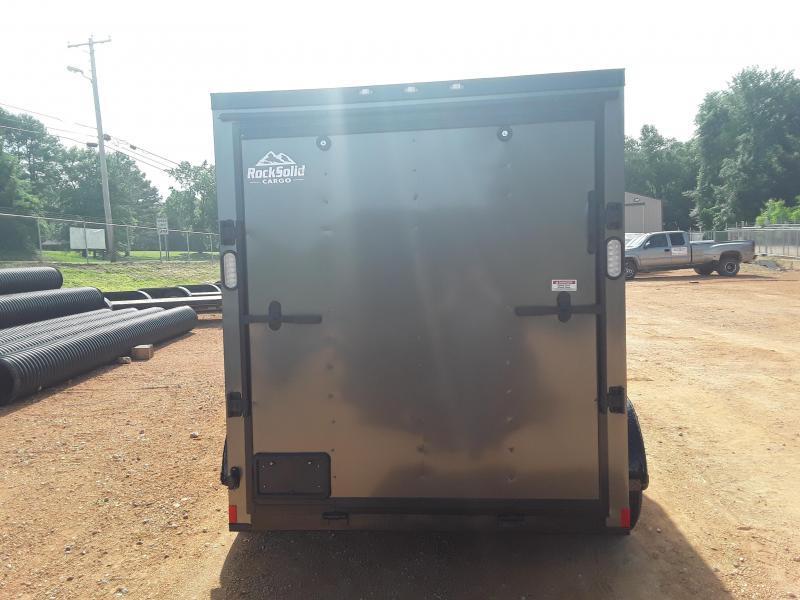 2019 Rock Solid Cargo 6 X 12 Enclosed Cargo Trailer W