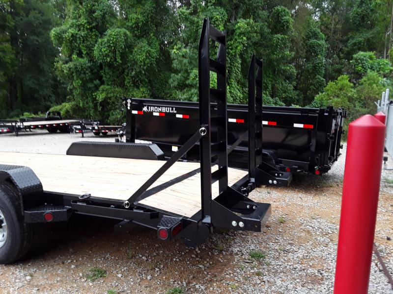 2019 Iron Bull Equipment Hauler 83 X 20 Equipment Trailer
