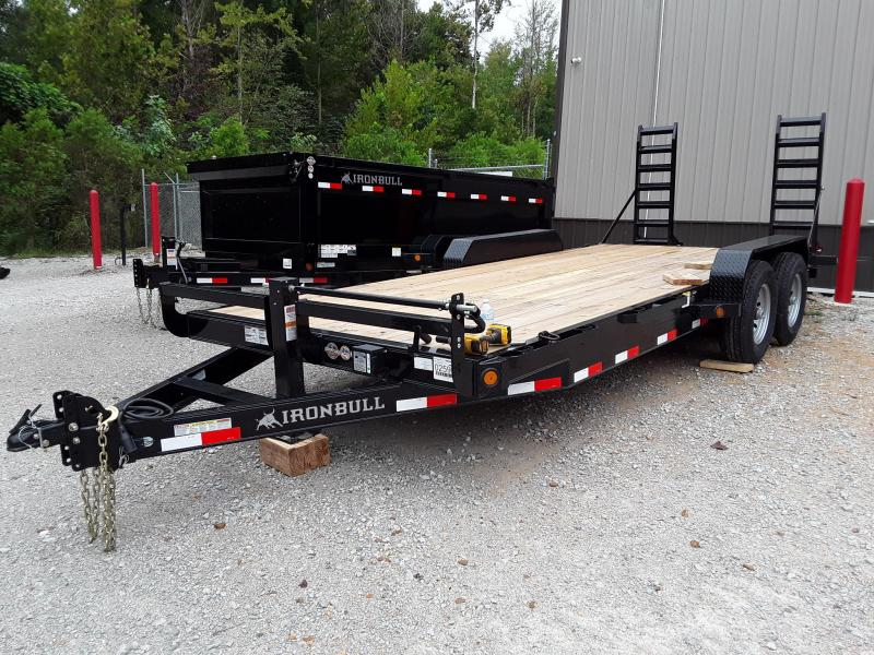 2018 Iron Bull Equipment Hauler 83 X 20 Equipment Trailer in Sherman, MS