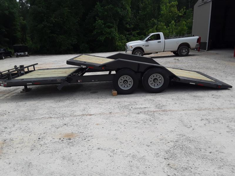 "2019 Load Trail 102"" X 22' Low Pro Tilt Equipment Trailer W 2 7000 Lb Axles"