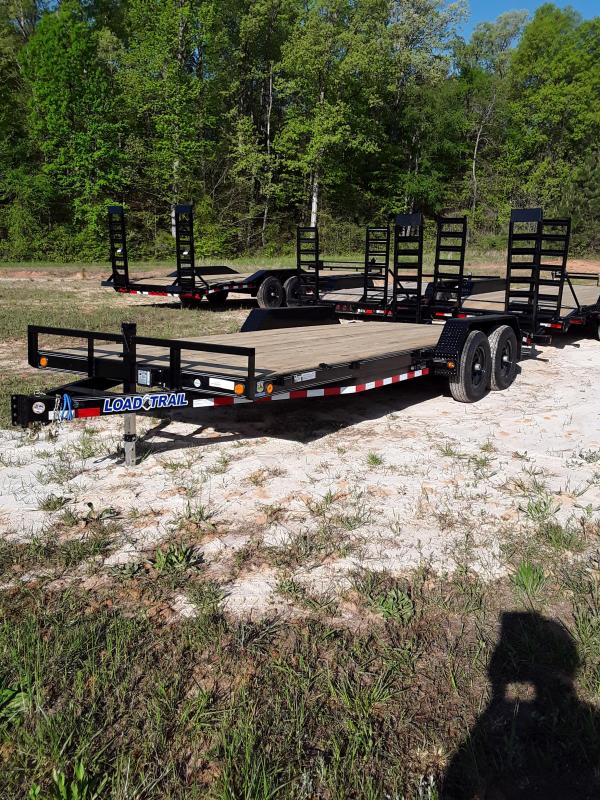 "2018 Load Trail 83""x22' Equipment Trailer 2-7k axles"