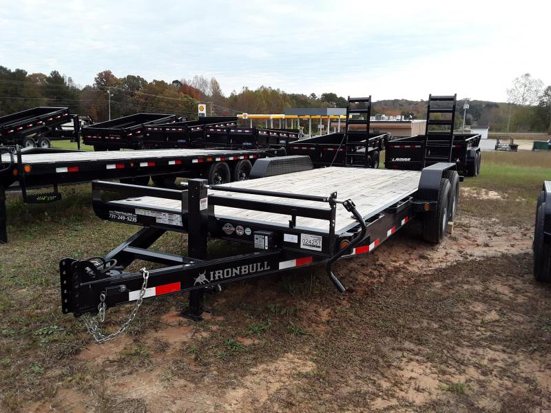 "2018 Iron Bull 83""x20' Equipment Trailer W/ 2 8k Axles 16k GVWR in Rector, AR"