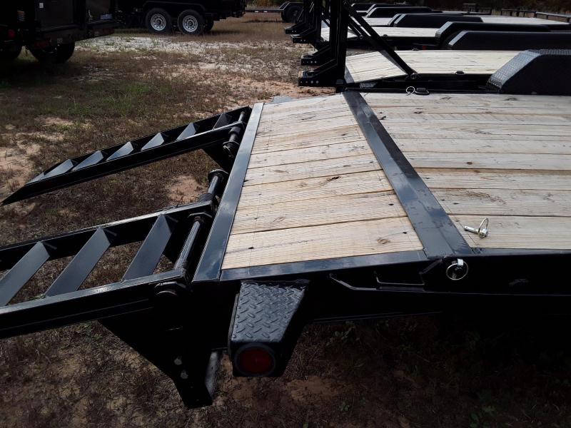 "2018 Iron Bull 83"" X 20' Equipment Trailer W/2 8K Dexter oil bath axles"