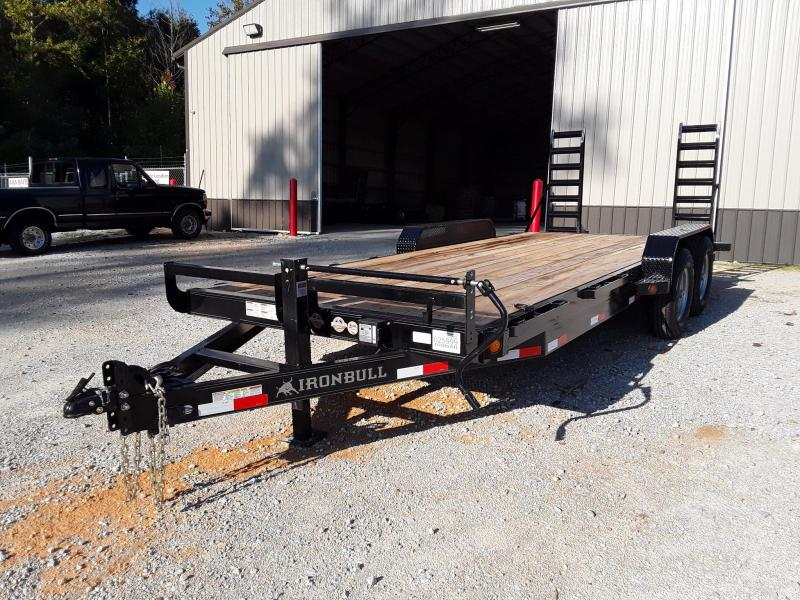 2018 Iron Bull 83 X 20 Equipment Hauler Equipment Trailer