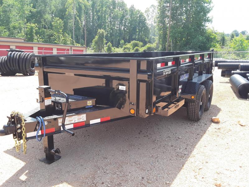 2018 Load Trail 83x14 2-7000LB Axles Dump Trailer with Rear Support Stands