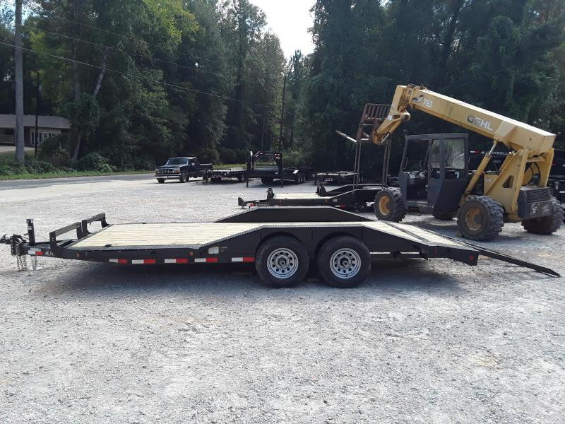 2019 Iron Bull 102 X 18 Equipment Trailer W/ Slide out Ramps